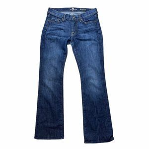 7 FOR ALL MANKIND Bootcut Jeans Medium Wash Size27